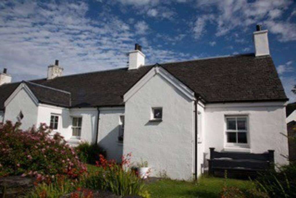 Traditional stone island cottage