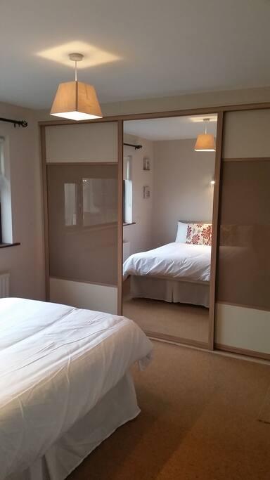 Spacious Master Bedroom 1