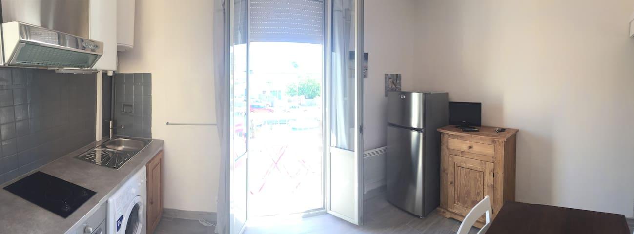studio confortable calme bien situé - Palavas-les-Flots - Wohnung