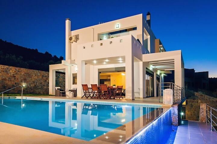 Luxury 6 bedroom Villa Neraida - Milatos - Villa