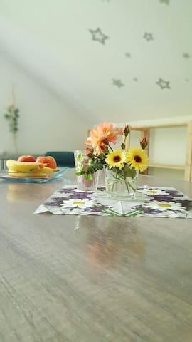 Wunderschönes 1 Zimmer Appartement - Kolitzheim - Rumah