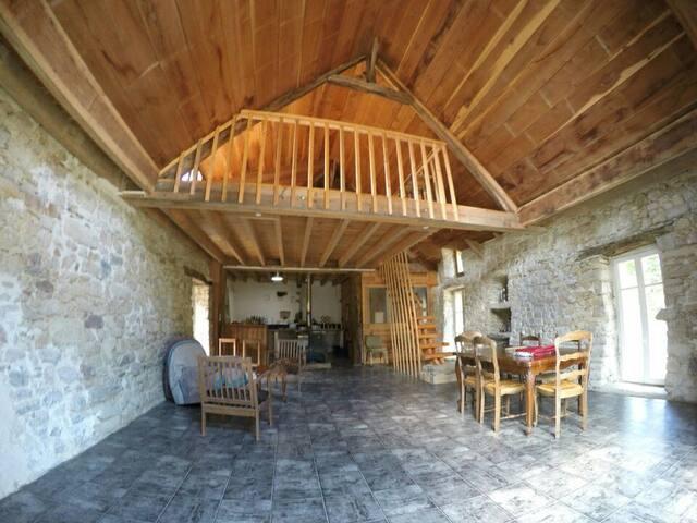 L'Aubergerie,  éco maison autonome - Saint-Dolay