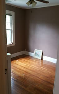 Bright, comfy, private room +office