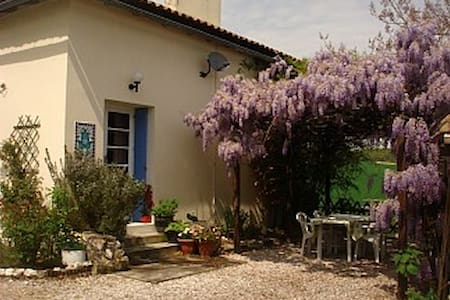 Luxury Cottage, heated pool & WIFI - Saint-Aubin-de-Cadelech - House