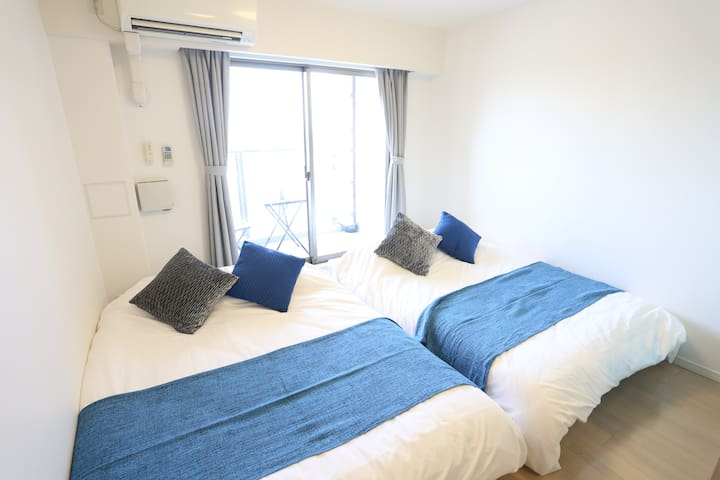 R29 GREAT VIEW !! PERFECT LOCATION!! 7MINS NANBA - Chuo Ward, Osaka - Apartamento