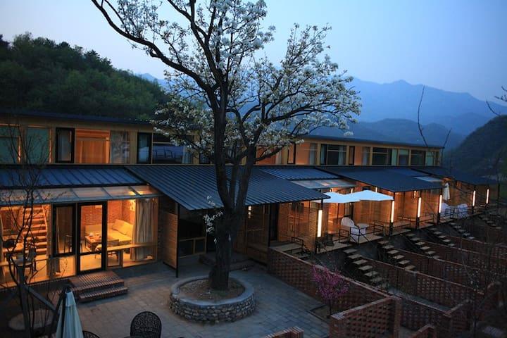 5号真宙BLUE VALLEY 观蓝谷 ——距离箭扣长城最近的度假农庄 - Pekin - Ev
