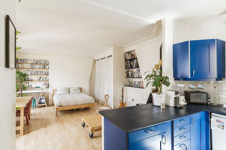 Charming&Sunny Studio in the 11th - Paris - Apartemen