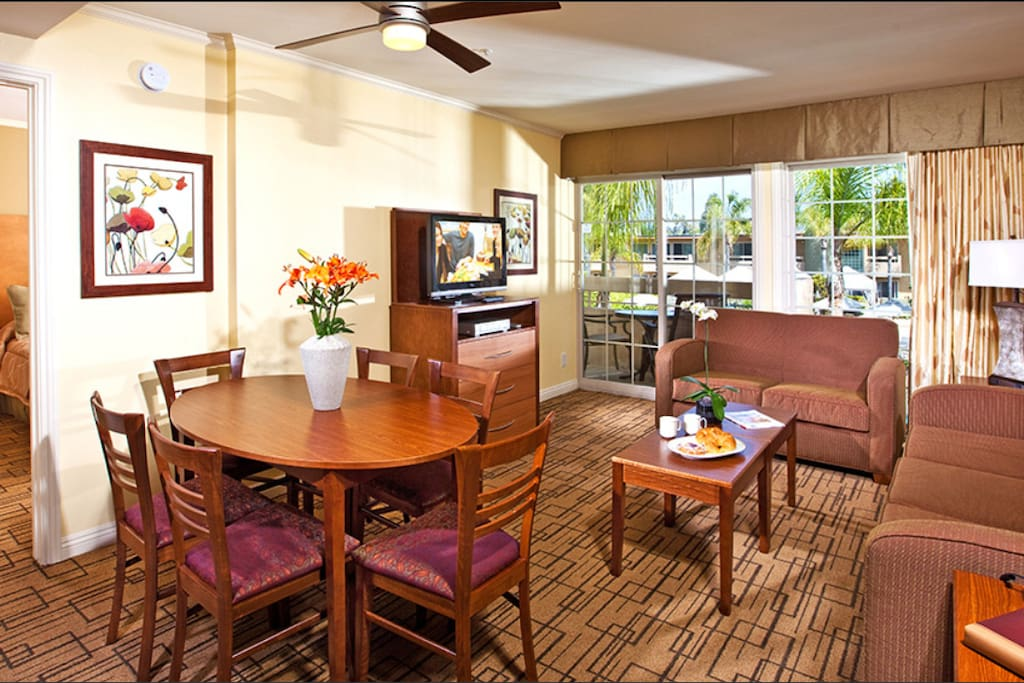 Condo's Living Room.