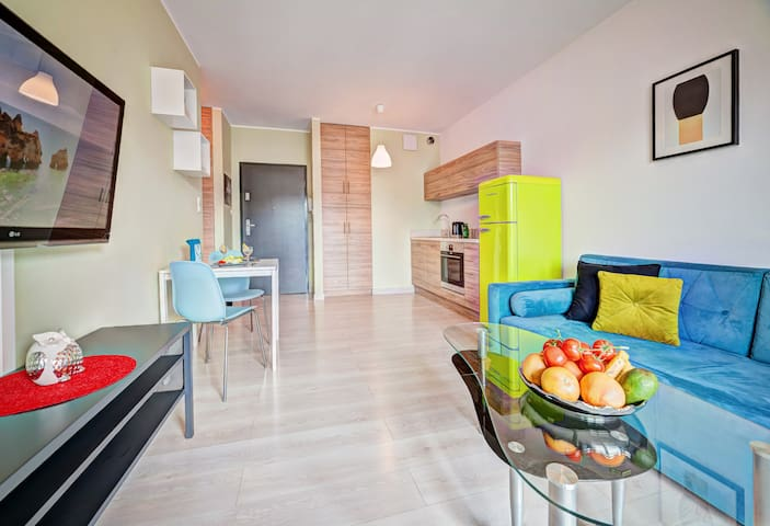 Apartament Homely Place Rainbow - Centrum