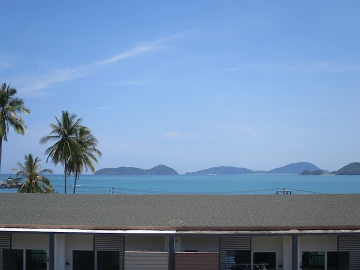 Sea view room in Phuket Panwa Bay