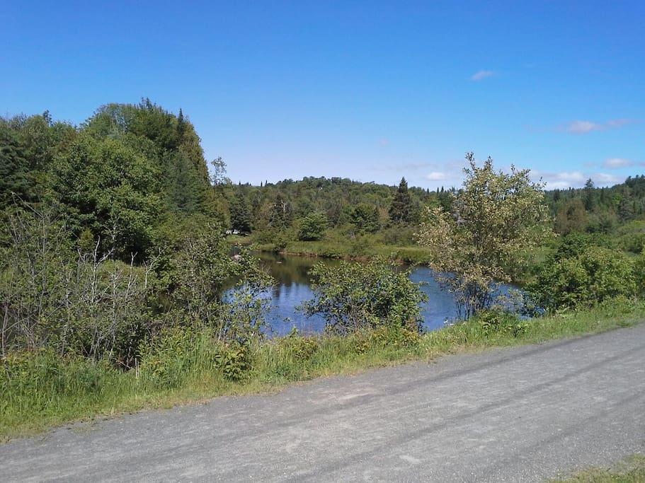 Rivière devant