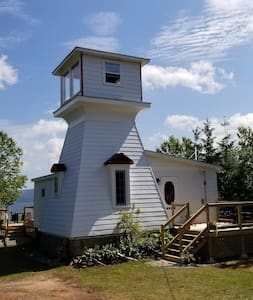 Lighthouse on the Bay, Cabot Trail St. Anns, N.S