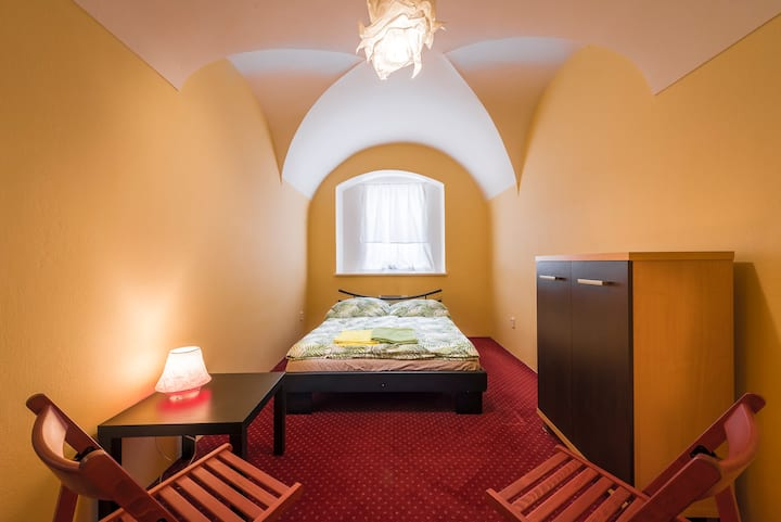 room next to Charles Bridge, Prague