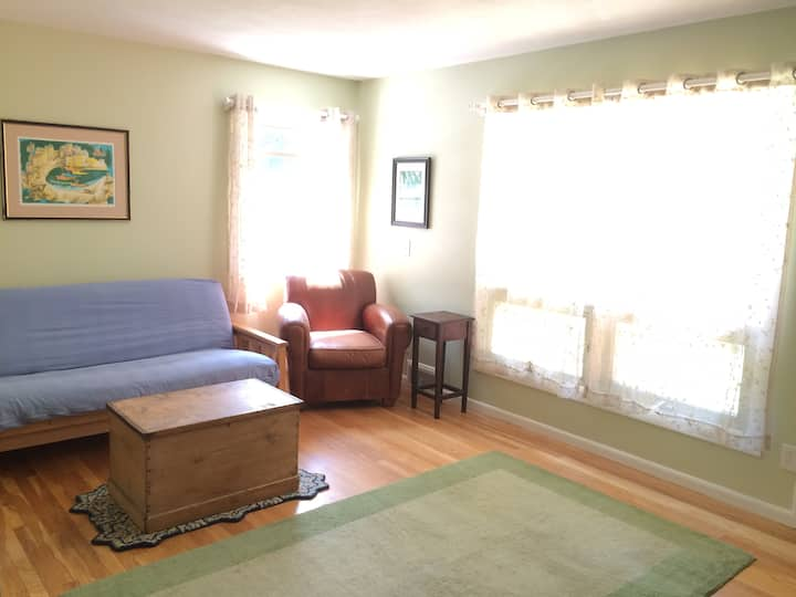 Private Suite one block from Mt Holyoke Campus