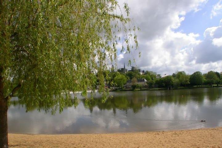 Maison calme, ensoleillée Touraine, - Château-la-Vallière - Casa