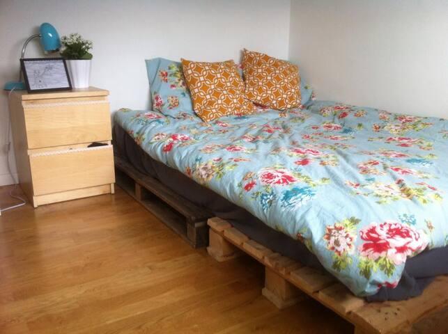 Cozy bedroom in Nørrebro - Kopenhaga - Apartament