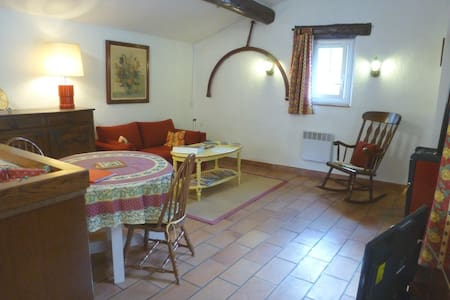 Appartement du Moulin - La Bastide-des-Jourdans - อพาร์ทเมนท์