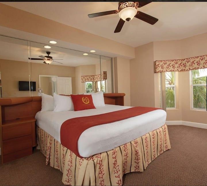 1 bedroom condo in resort near Disney World