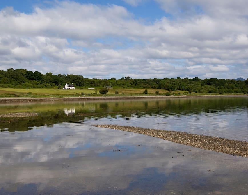 Beautiful location on the shores of Loch Creran