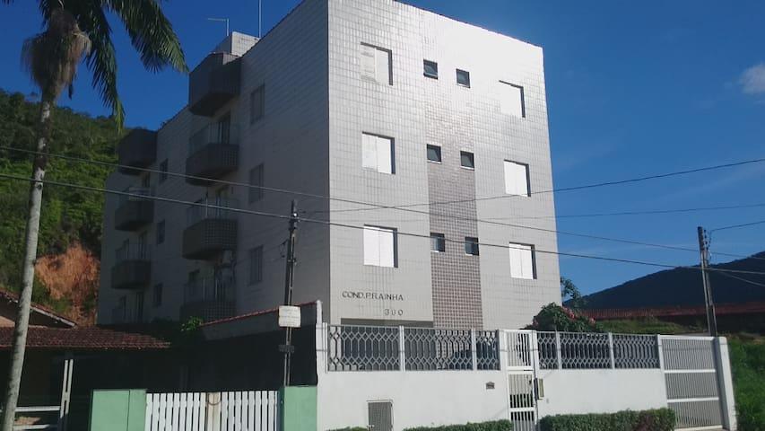 Apto em Caraguatatuba-SP na Prainha - Caraguatatuba - Apartamento