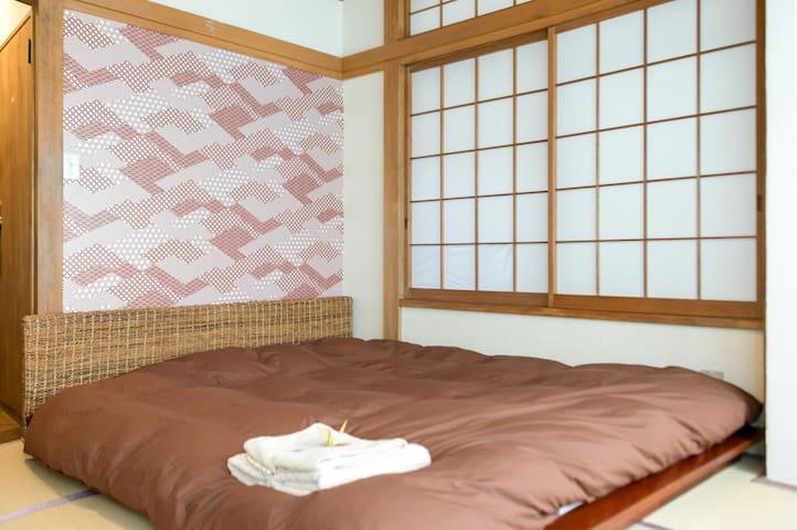 #201 Licensed. 7mins Sta,Tatami room. convinient