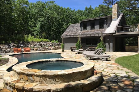 Bridgehampton House on 5 acres - Water Mill - Huis