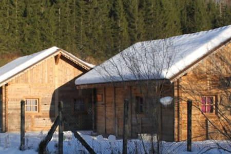 Les chalets des martins - Lac-des-Rouges-Truites