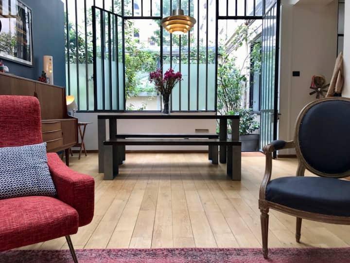 Très beau Loft parisien au calme