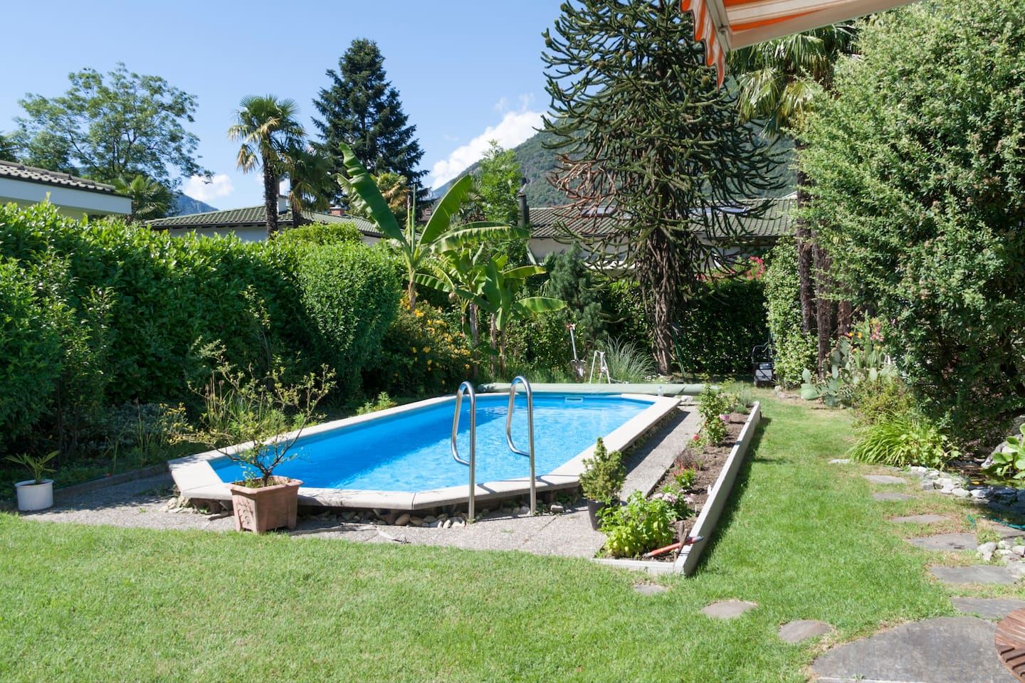 Garden + Pool on Request