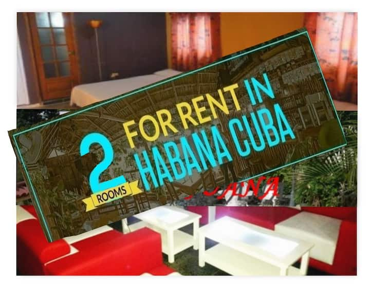 2 Rooms for Rent in Havana Cuba