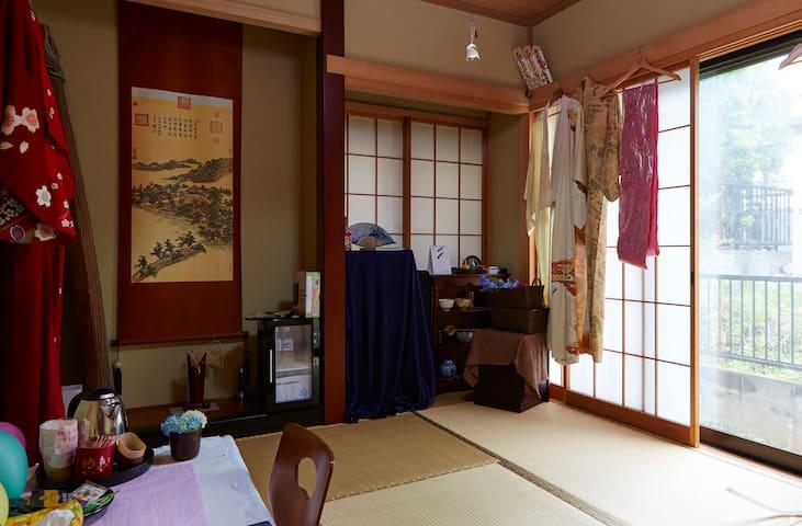 Modern, clean japanese guest room - Yokohama-shi - Rumah