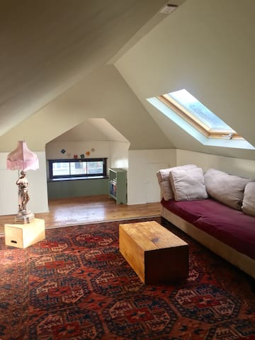 Private Attic Space by Lake Merritt