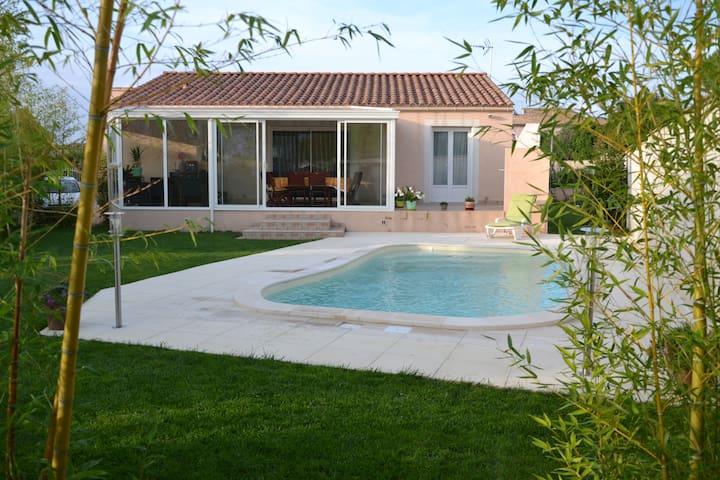 Villa proche Camargue, Plages - Générac - Villa