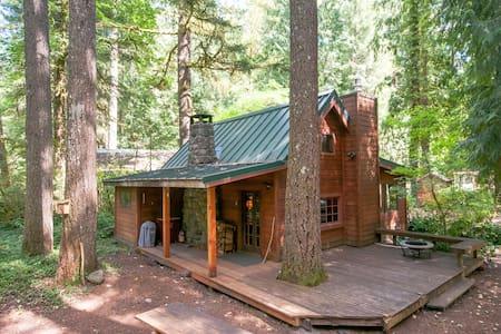Escape to vintage Mt. Hood retreat - Brightwood