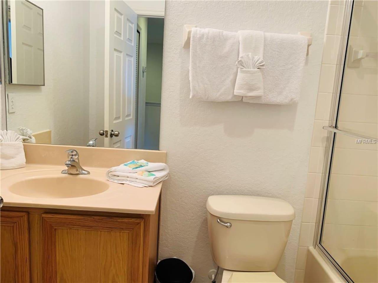 Upstairs - Master room washroom