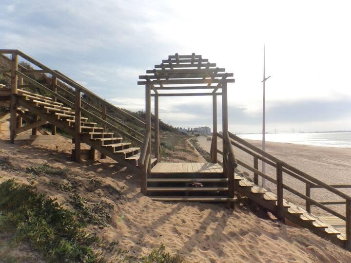 Apartamento en la playa El Ancla Beach