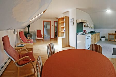 Two bedroom loft apartment