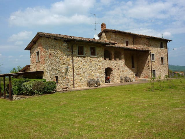 1790 's Wonderful villa in tuscan countryside - Bucine - Villa