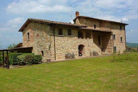 1790 's Wonderful villa in tuscan countryside - Bucine - Villa