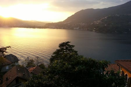Lake Como room & private bathroom- INCREDIBLE VIEW - Blevio - House