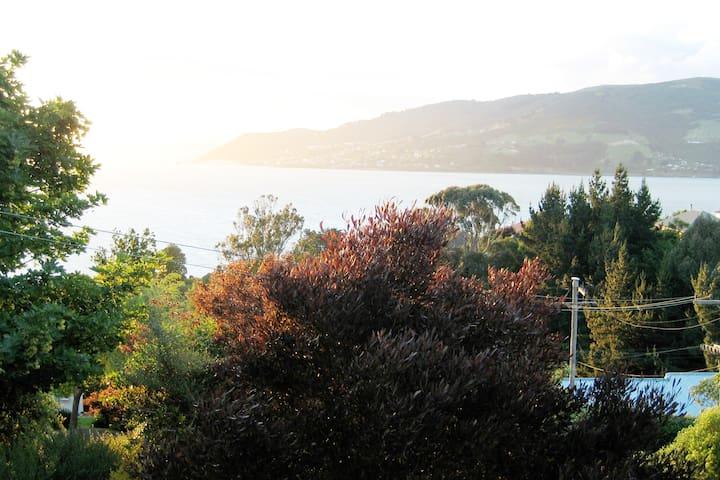 Willkommen! Bitte kommen sie nach Otago Peninsula.