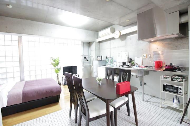 8 min Ikebukuro! Next to Shinjuku!! wifi cozy room - Toshima-ku - Apartment