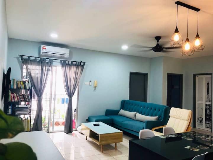 Cozy sweet room at Petaling Jaya, near to 1 Utama