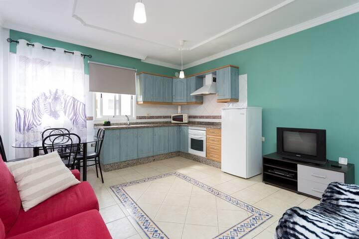 Cómodo apartamento para 5 personas - San Isidro de Abona
