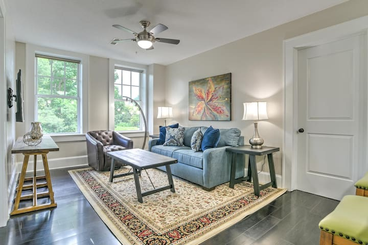 Charming, Newly Renovated 1 bdr/1 bath in Historic King James Building Unit #9