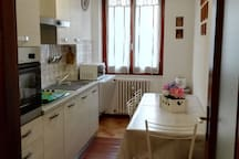 Luminosa cucina/Bright kitchen