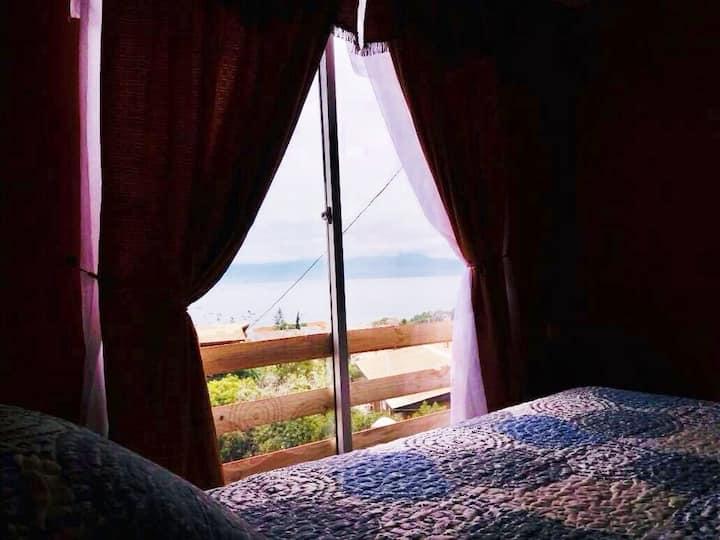 Hermosa cabaña con vista al mar en Guanaqueros.