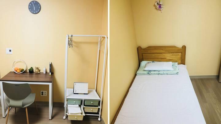 (조식제공) 세종시청/터미널/교육청 5분거리 개인실