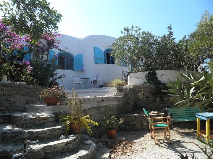 traditionelles Apartement mit Meerblick