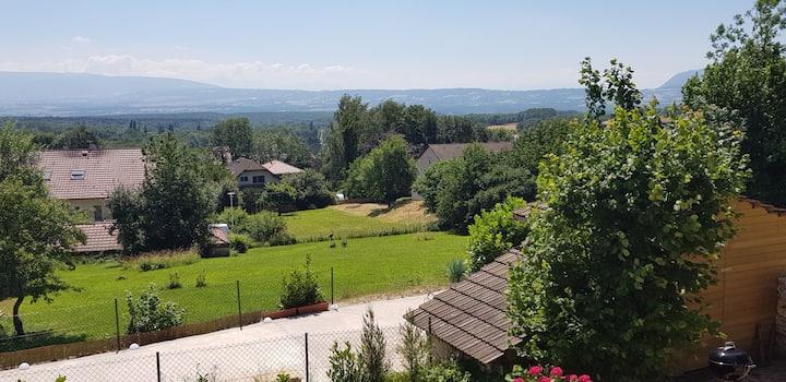 Maison de campagne proche Genève, à 10min. du CERN